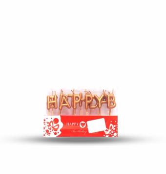 شمع happy birthday طلقی