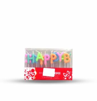 شمع happy birthday طلقی بلک لایت